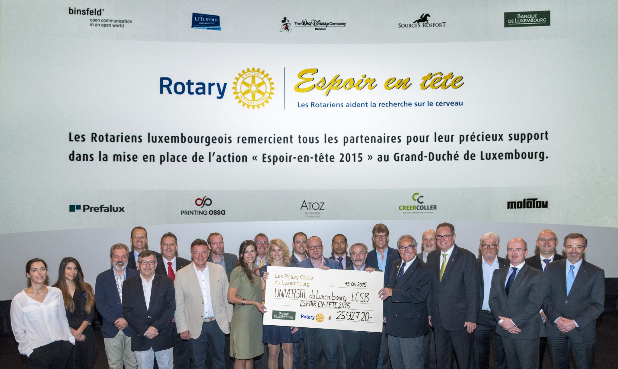 Rotary Luxembourg EET 2015
